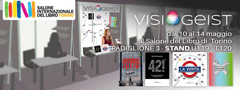 Visiogeist al Salone del Libro di Torino 2018