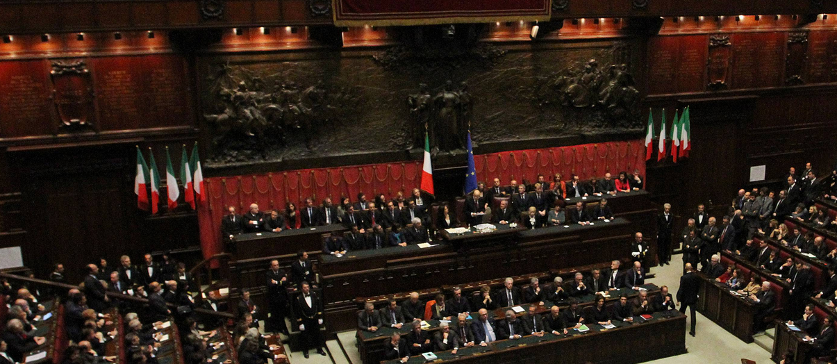 You are listening to Montecitorio - elezione del Presidente della Repubblica & musica ambient