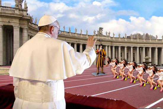 10 cose da non fare all'udienza generale di Sua Santità Francesco