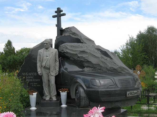 le migliori tombe della mafia russa